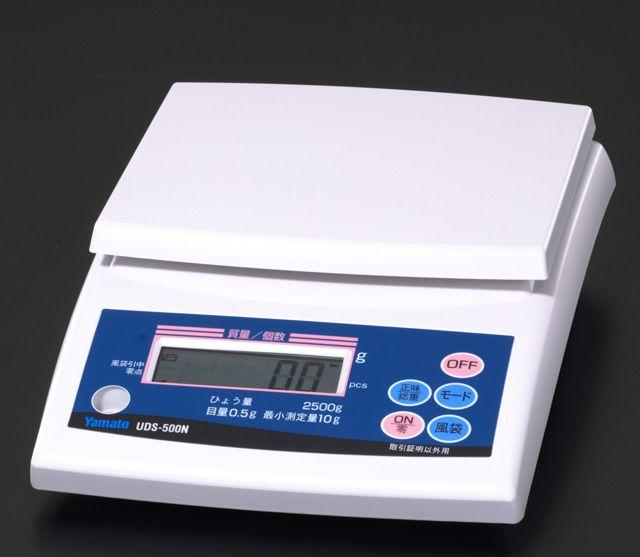 【メーカー在庫あり】 エスコ ESCO 2.5kg(0.5g) デジタルはかり 000012074008 HD店