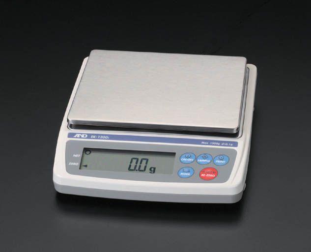 【メーカー在庫あり】 エスコ ESCO 1.2kg( 0.1g) 電子天秤 000012025563 HD店