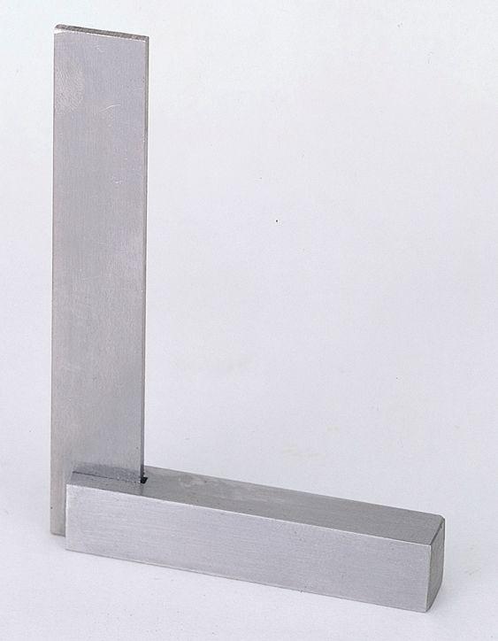 【メーカー在庫あり】 エスコ ESCO 200x130mm 台付スクエアー(1級焼入) 000012079775 HD店