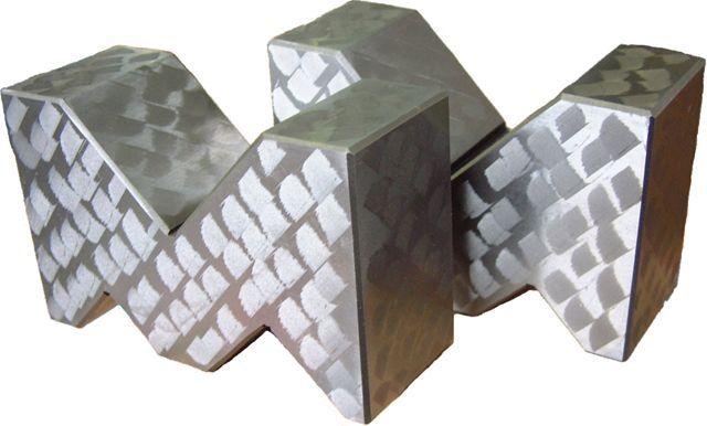 【メーカー在庫あり】 エスコ ESCO 125x 80x 50mm A型Vブロック(A級仕上) 000012079798 HD店