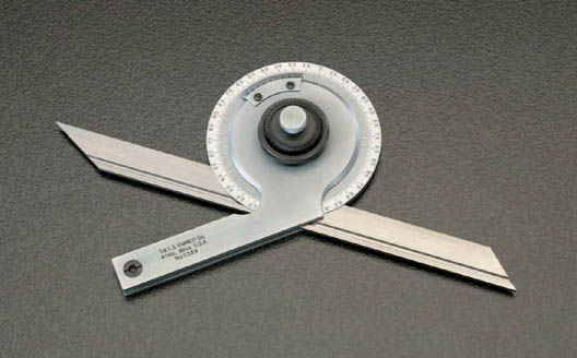 【メーカー在庫あり】 エスコ ESCO 175mm ユニバーサルベベルプロトラクター 000012018206 HD店