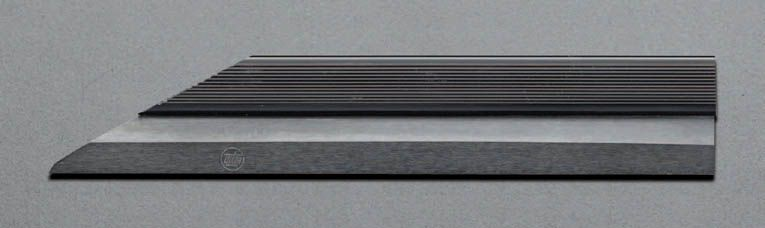 エスコ ESCO 750mm ナイフ形ストレートエッジ(スティール製) 000012048348 HD店