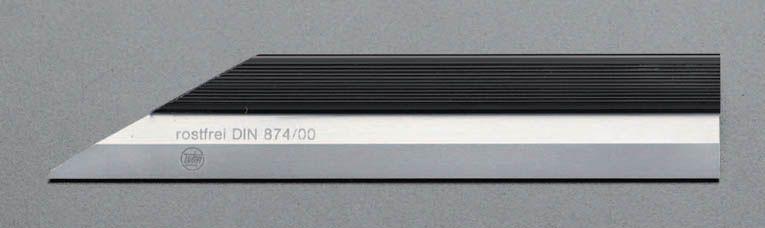 【メーカー在庫あり】 エスコ ESCO 300mm ナイフ形ストレートエッジ(INOX) 000012048356 HD店