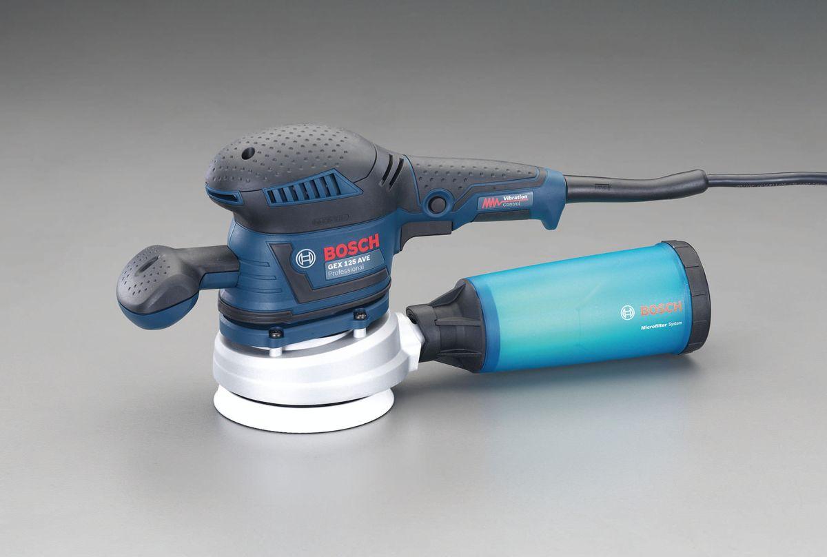 エスコ ESCO 125mm ラムアクションサンダー 吸塵付 000012235207 HD店