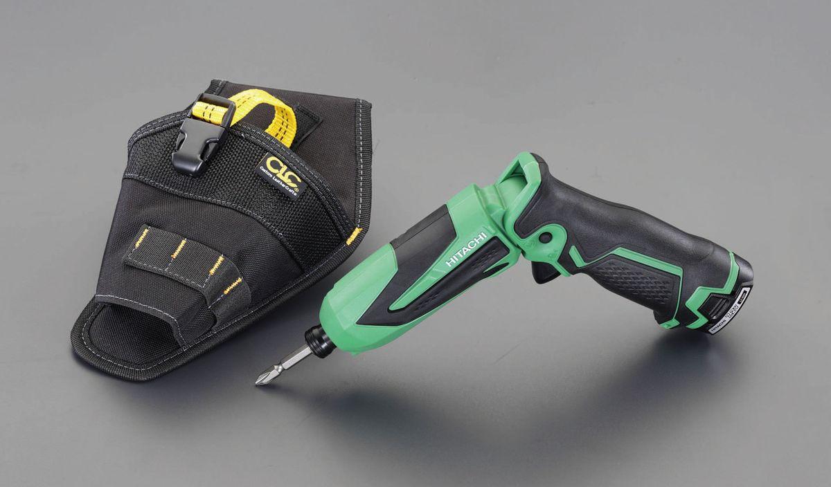 【メーカー在庫あり】 エスコ ESCO DC7.2V インパクトドライバー 充電式・ホルスター付 000012260528 HD店
