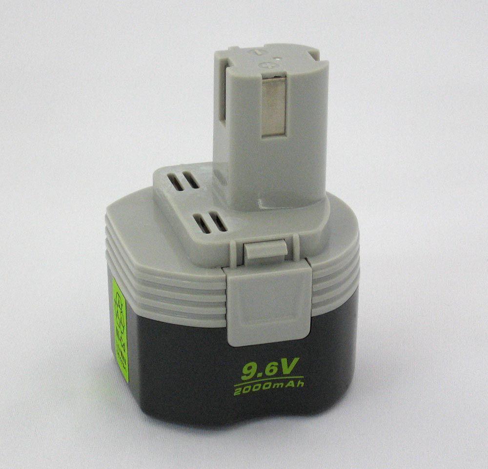 エスコ ESCO 9.6V・2000mAh 交換用バッテリー 000012006061 HD店