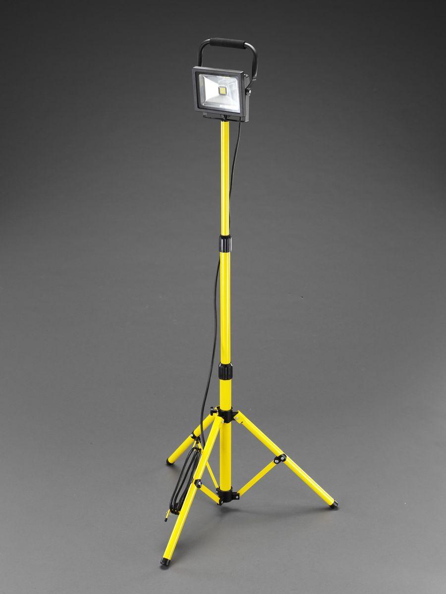 【メーカー在庫あり】 エスコ ESCO AC100V/20W 作業灯/LED スタンド付 000012261680 HD店