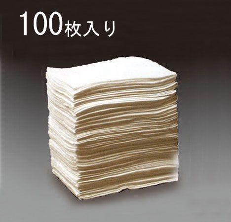 【メーカー在庫あり】 エスコ ESCO 380x480x3mm 油吸着マット 水分離型/100枚 000012201665 HD店