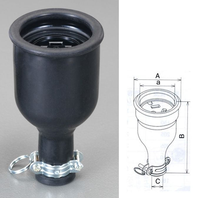 メーカー在庫あり 上質 エスコ ESCO AC250V 15A HD 接地3P 防水型コネクター 新作多数 000012242254