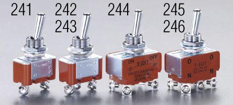 メーカー在庫あり オーバーのアイテム取扱☆ エスコ ESCO 125V 15A 000012201907 ショップ トグルスイッチ HD 単極双投 12mm
