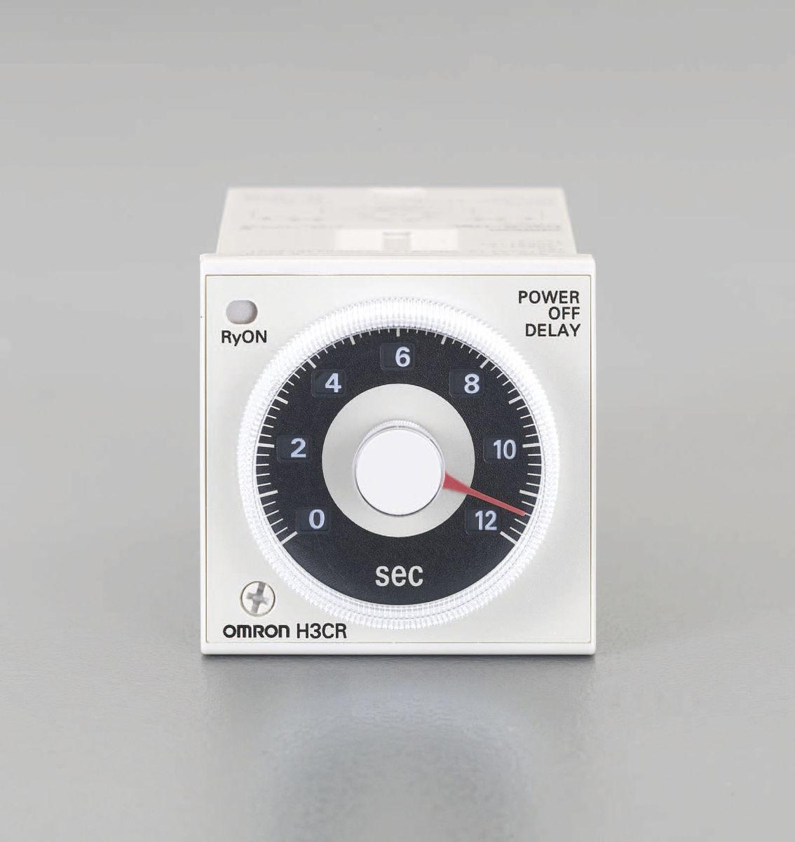 【メーカー在庫あり】 エスコ ESCO AC100-120V 電源オフディレータイマー 0.05-12秒 000012230951 HD店