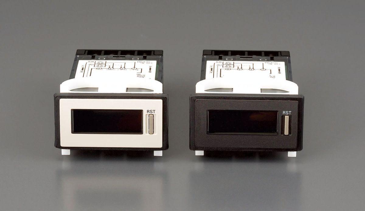 【メーカー在庫あり】 エスコ ESCO AC100-240V トータルカンウンター ライトグレー 000012202053 HD店