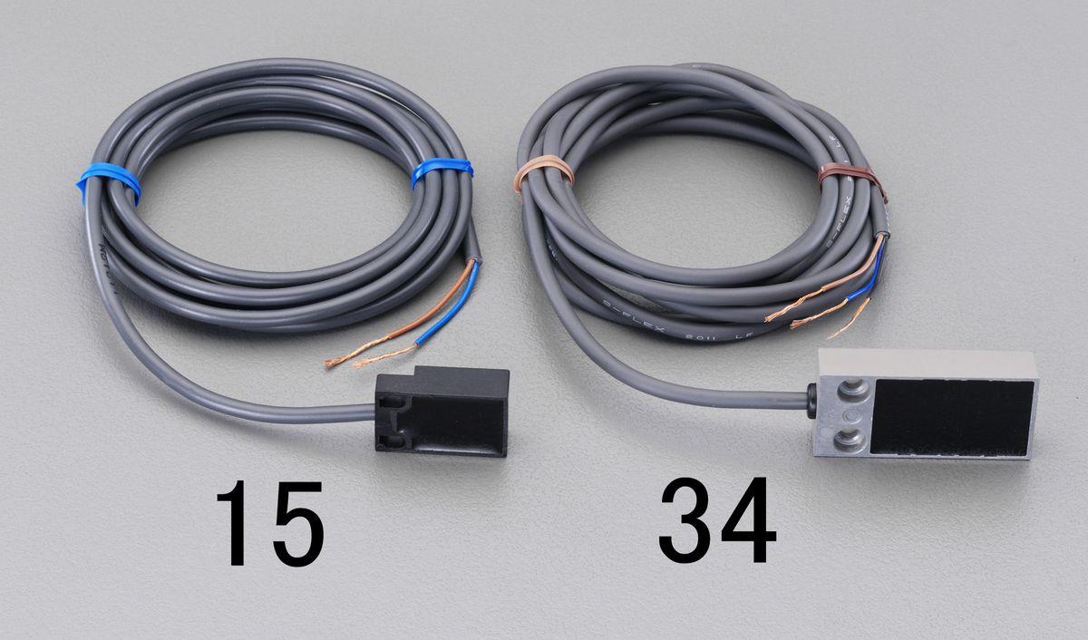 【メーカー在庫あり】 エスコ ESCO フラット直流3線 近接センサー 5mm・ シールド 000012242361 HD店