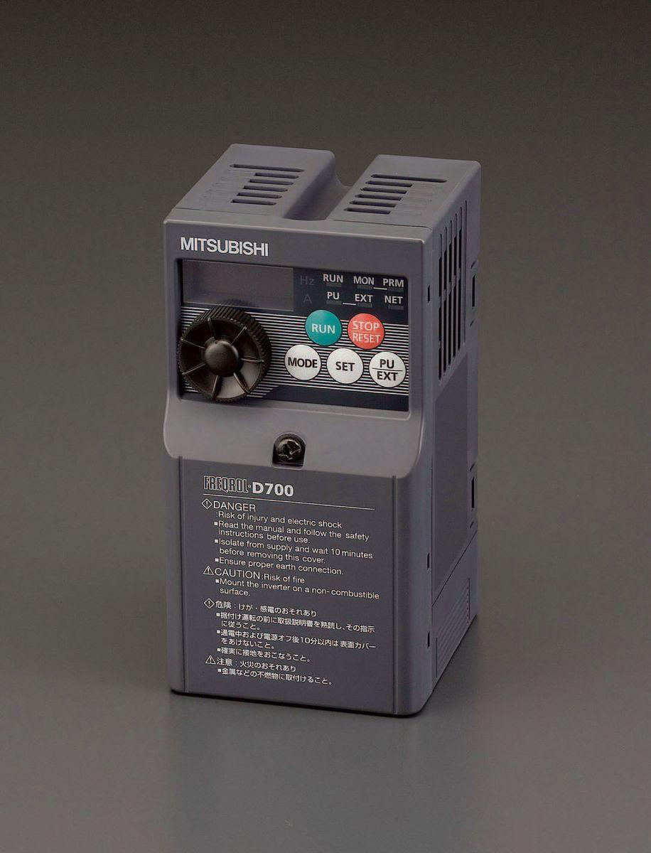 【メーカー在庫あり】 エスコ ESCO 200V/0.1kw インバーター 3相モーター用 000012202095 HD店