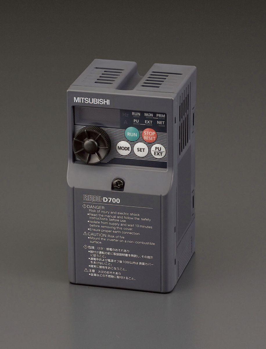 【メーカー在庫あり】 エスコ ESCO 400V/7.5 kw インバーター 3相モーター制御用 000012231179 HD店