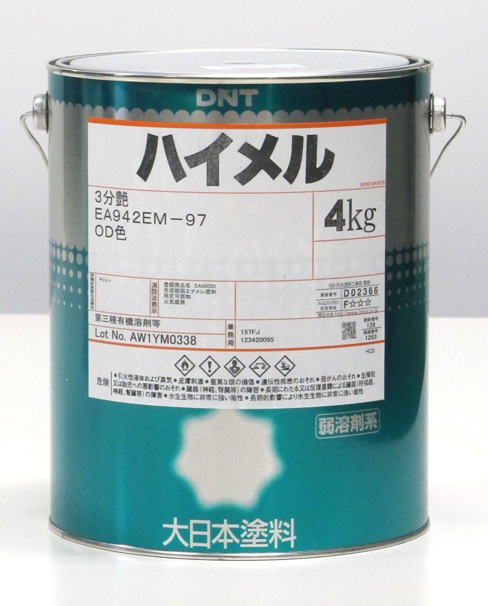 エスコ ESCO 4.0kg 油性多目的塗料 OD色・3分ツヤ 000012265121 HD店