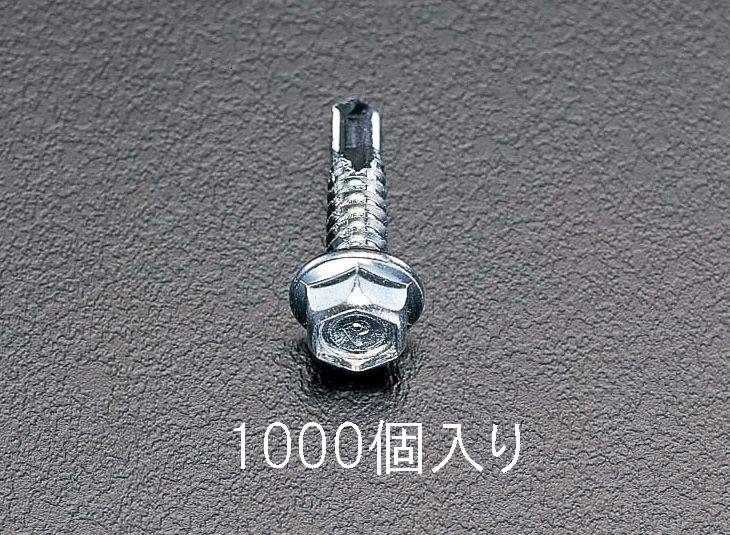 【メーカー在庫あり】 エスコ ESCO 5x19mm 六角頭ピアスビス 1000本 000012060316 HD店