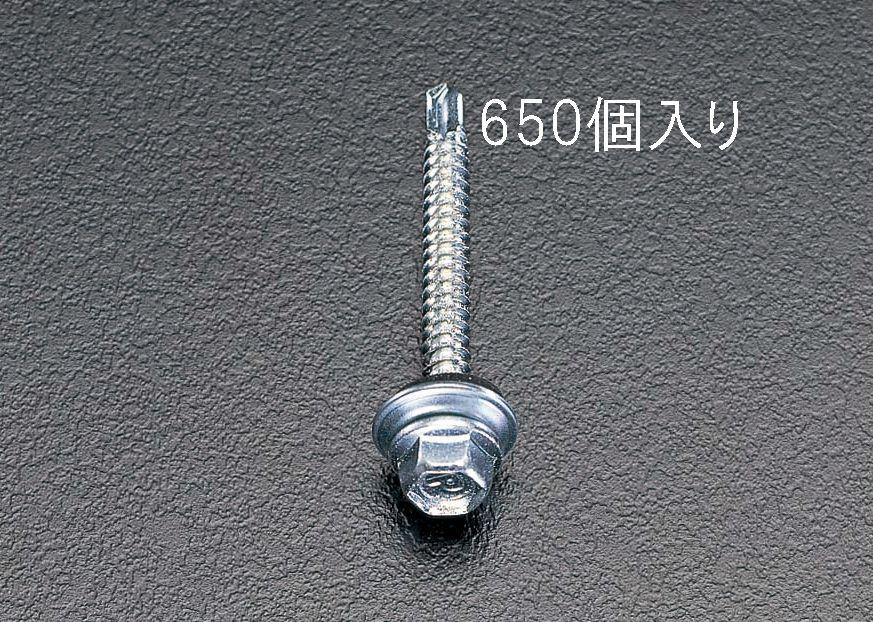 【メーカー在庫あり】 エスコ ESCO 5x25mm 六角頭ピアスビス シール付/650本 000012060327 HD店