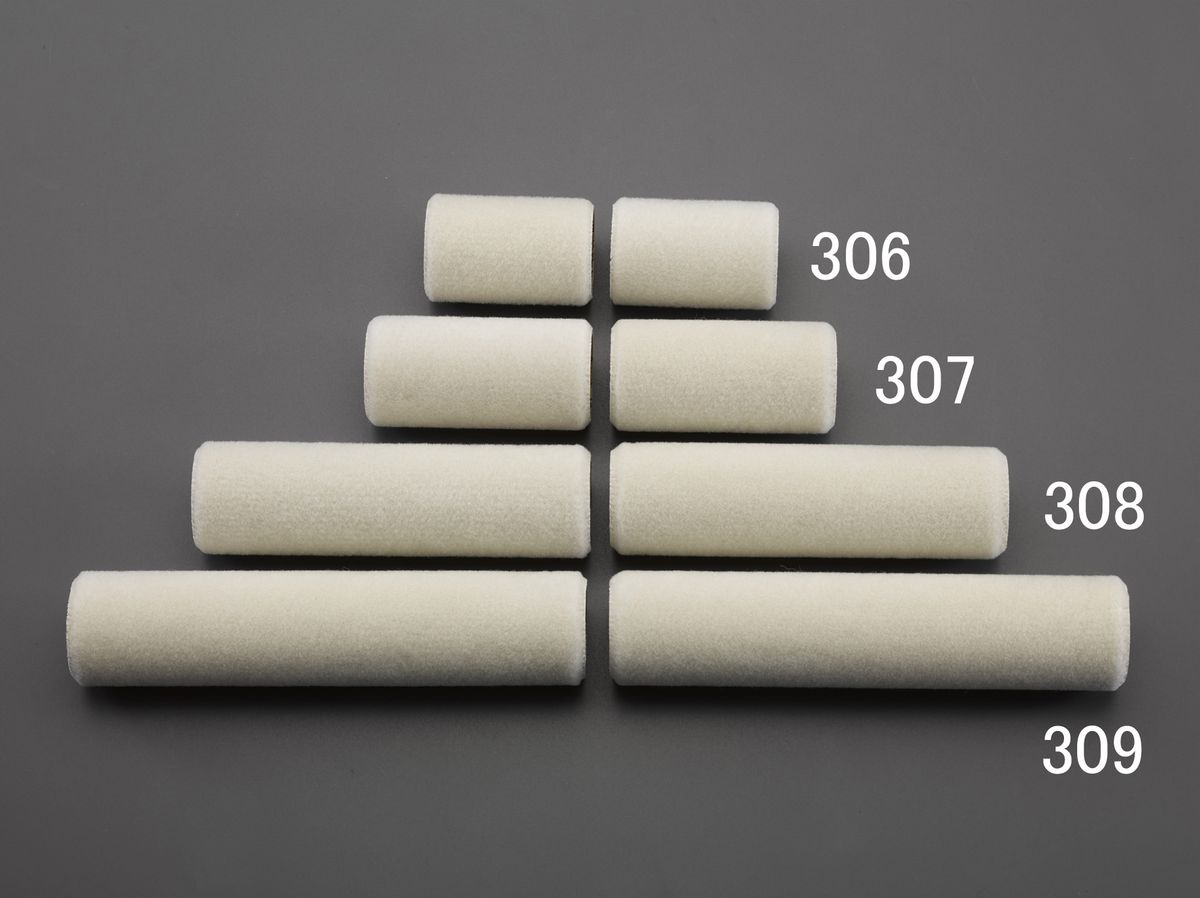メーカー在庫あり エスコ ESCO 75mm 替ローラー 引出物 HD 2本 接着剤用 000012257029 35%OFF
