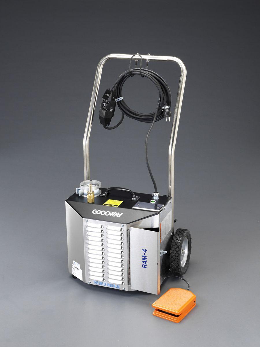 【メーカー在庫あり】 エスコ(ESCO) 115v/0.40kW-50Hz 電動チューブクリーナー 000012260364 HD