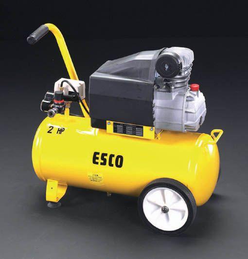 【メーカー在庫あり】 エスコ ESCO エアーコンプレッサー AC100V/1.50kw EA116SD HD店