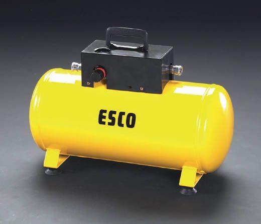 補助タンク(エアーコンプレッサー用) 000012045276 【メーカー在庫あり】 エスコ(ESCO) 25L HD