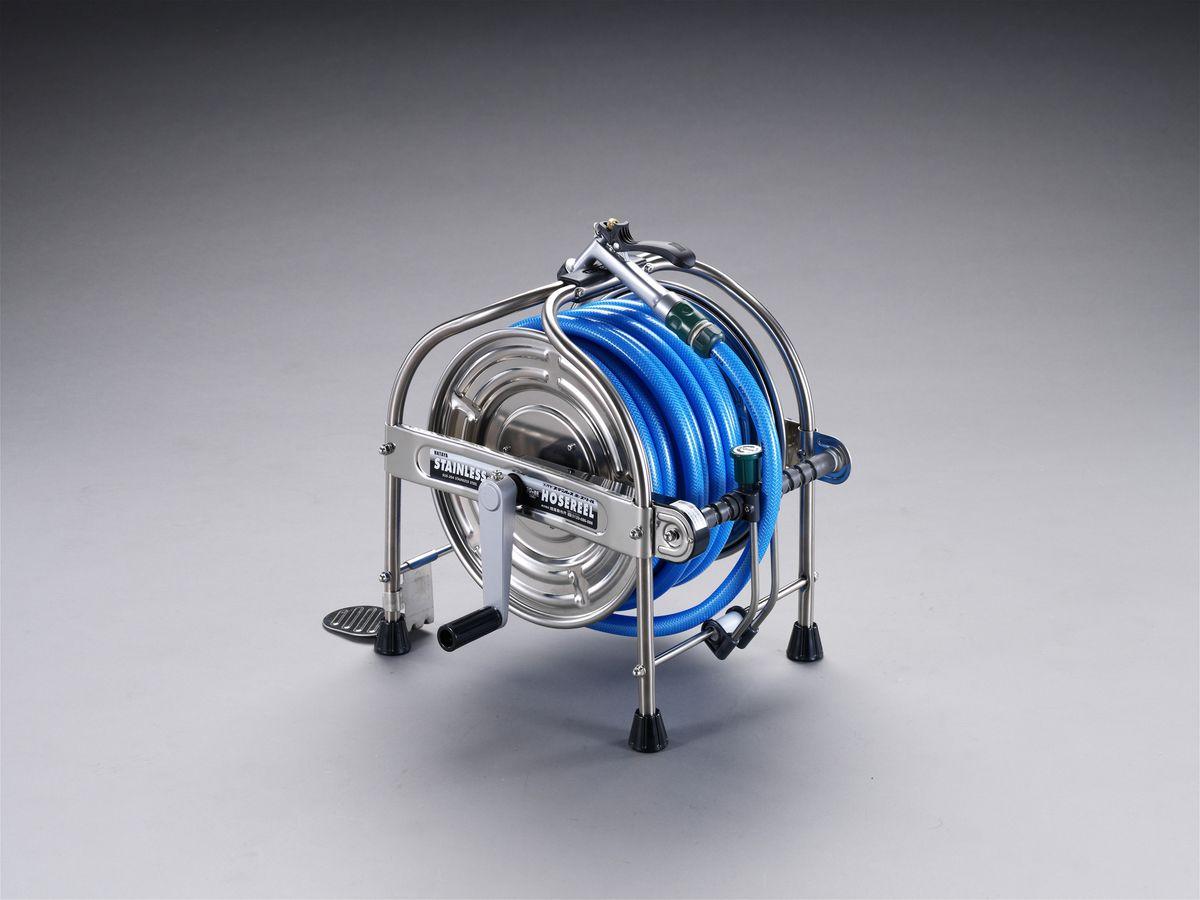 【メーカー在庫あり】 エスコ(ESCO) 15/20mmx40m 散水ホースリール 000012007234 HD