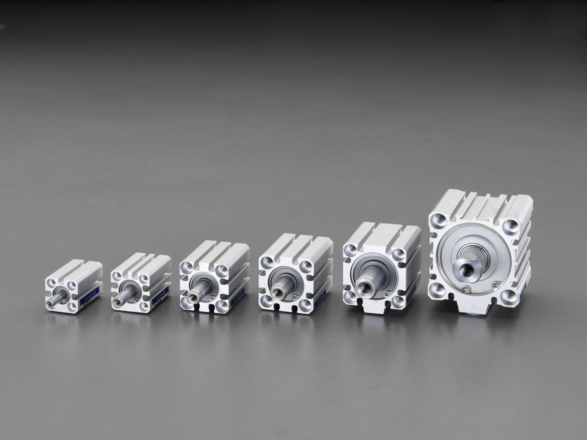 【メーカー在庫あり】 エスコ(ESCO) φ32x10mm エアーシリンダー 000012257595 HD