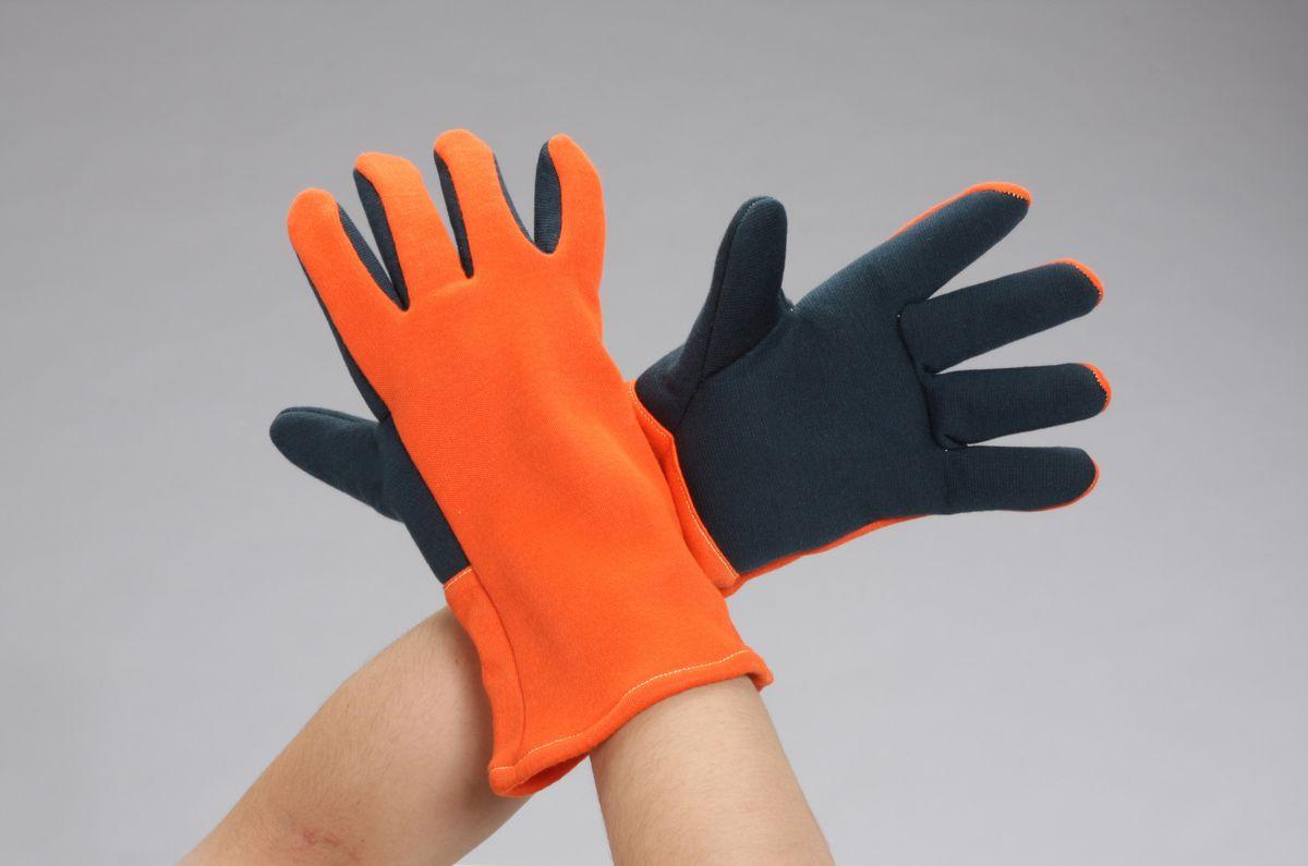 【メーカー在庫あり】 エスコ(ESCO) フリー 手袋(耐熱 耐切創/ロング) 000012262359 HD