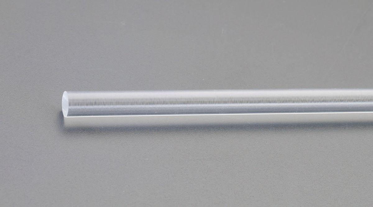 【メーカー在庫あり】 エスコ ESCO φ50x1000mm アクリル丸棒(透明) 000012096389 HD