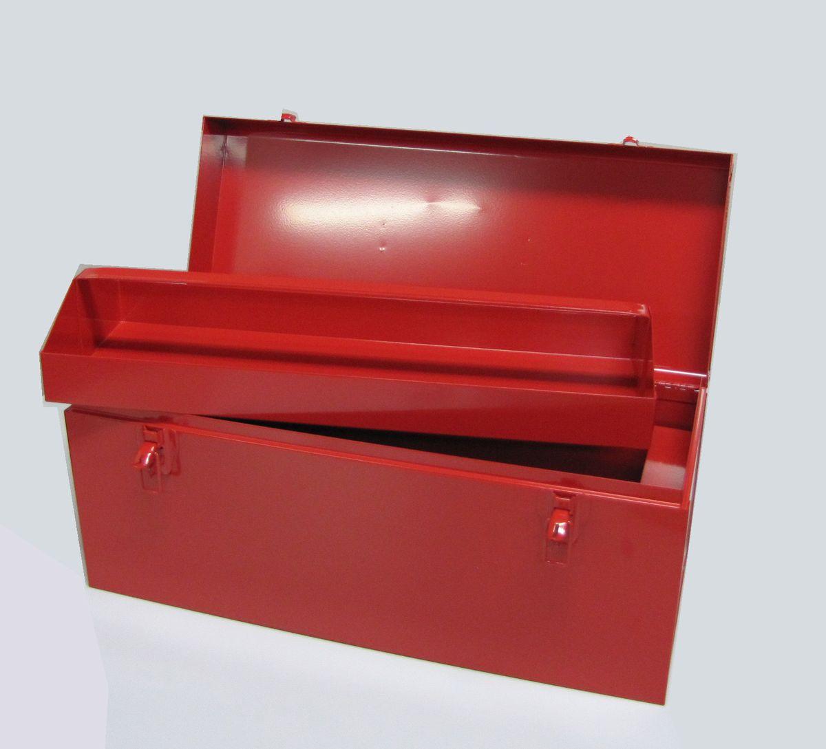 【メーカー在庫あり】 エスコ ESCO 533x222x229mm 工具箱(スティール製) 000012046037 HD