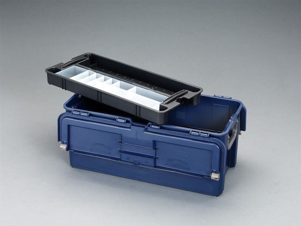 【メーカー在庫あり】 エスコ ESCO 620x315x260mm 工具箱(中皿付) 000012030405 HD