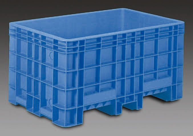 【メーカー在庫あり】 エスコ ESCO 1340x865x688mm/503L コンテナ(排水栓付) 000012085233 HD