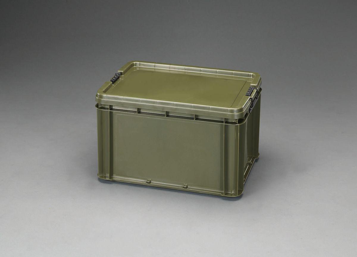 【メーカー在庫あり】 エスコ ESCO 568x406x326mm 道具箱(バックル付/OD色) 000012245894 HD