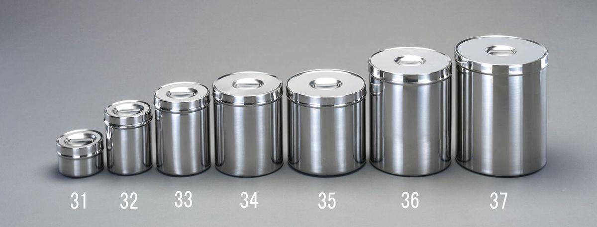 【メーカー在庫あり】 エスコ ESCO φ208x250mm/8.30L 容 器(ステンレス製) 000012225450 HD