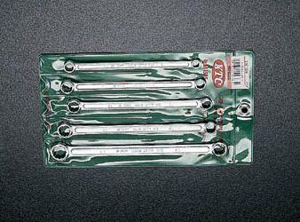 【メーカー在庫あり】 エスコ ESCO 5本組 メガネレンチ(ロングサイズ) 000012032719 HD店