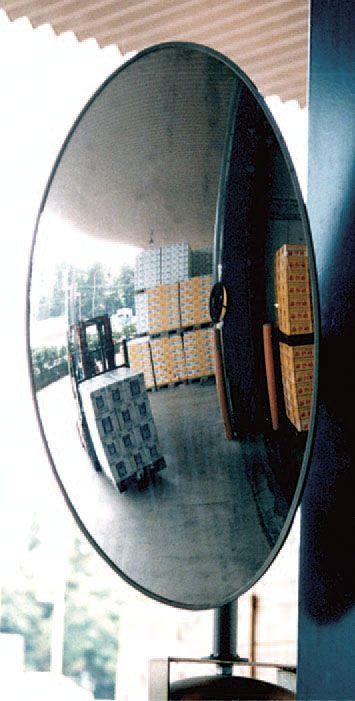 【メーカー在庫あり】 エスコ ESCO 330x550mmフォークリフト出口用安全ミラー(柱壁用) 000012210918 HD店