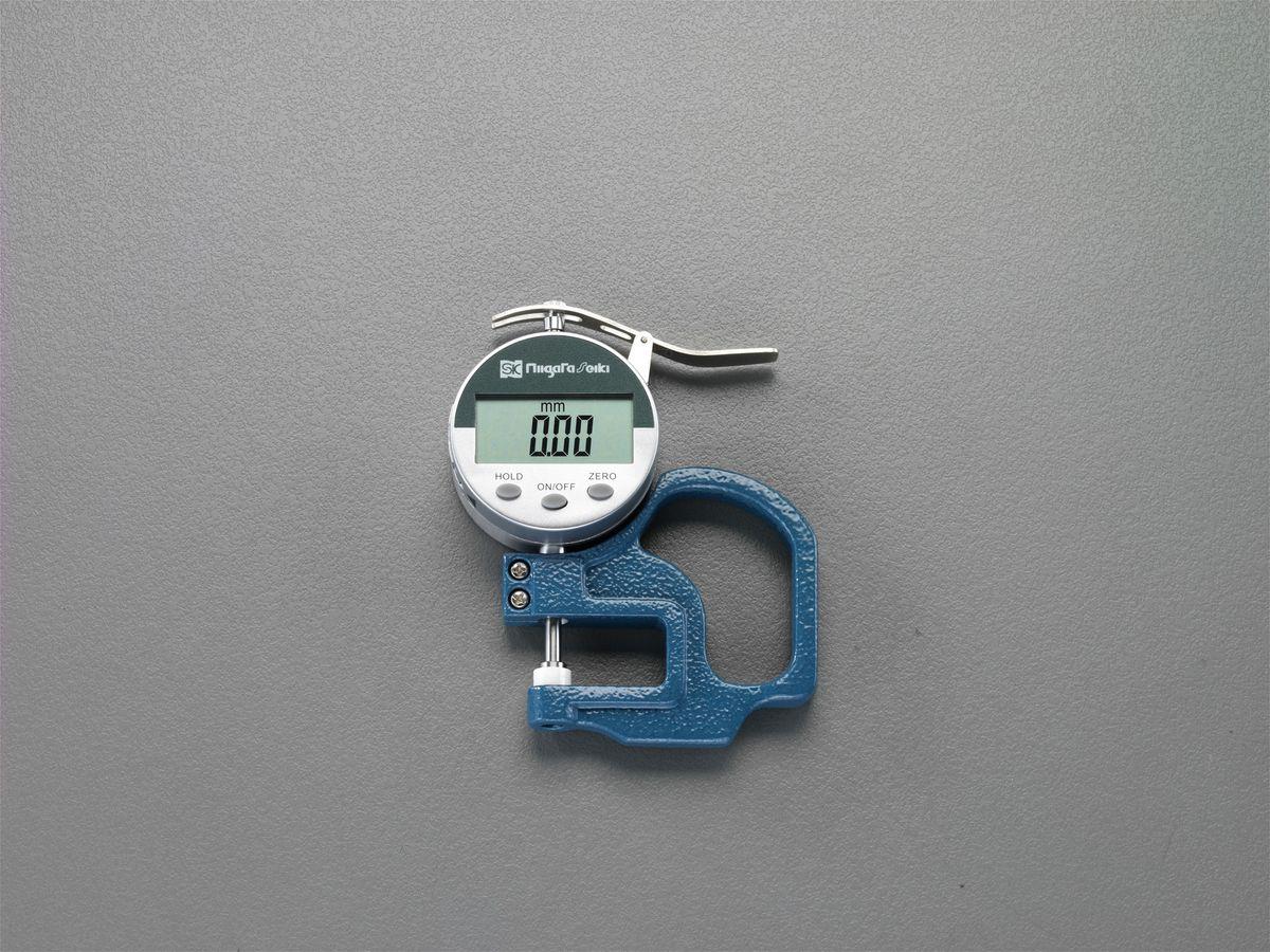 【メーカー在庫あり】 エスコ ESCO 0-10mm デジタルシクネスゲージ 000012228088 HD店