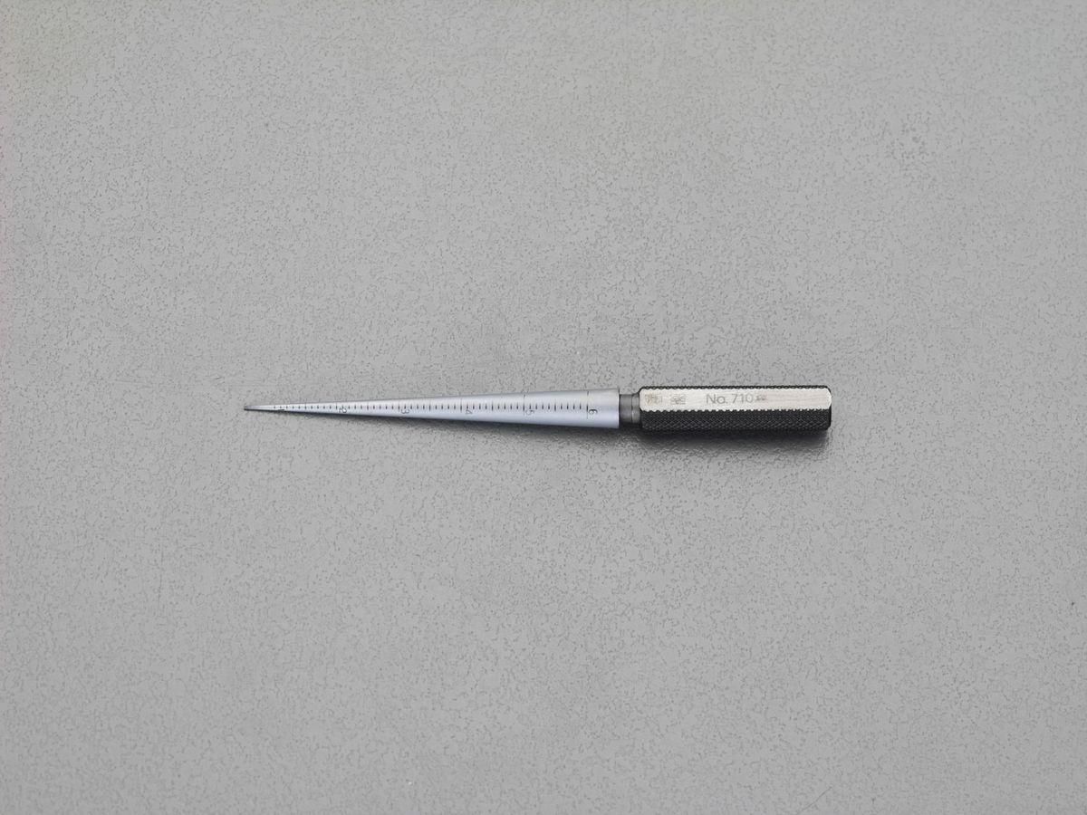 【メーカー在庫あり】 エスコ ESCO 4-15mm 円筒テーパーゲージ 000012257731 HD店