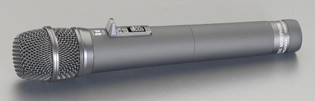 【メーカー在庫あり】 エスコ(ESCO) 充電式マイク(EA763CF-11用) 000012063432 HD