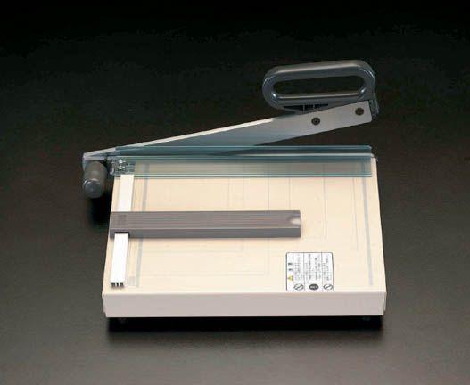 【メーカー在庫あり】 エスコ ESCO 285x360mm(A4/10枚) ペーパーカッター 000012063388 HD