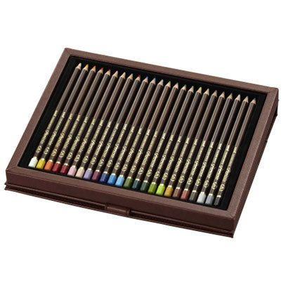 【メーカー在庫あり】 エスコ ESCO 24色 高級色鉛筆 000012080697 HD