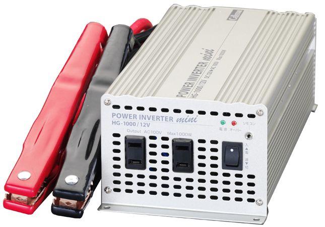 【メーカー在庫あり】 エスコ ESCO DC24V/AC100V・800W DC-ACインバーター 000012200829 HD店