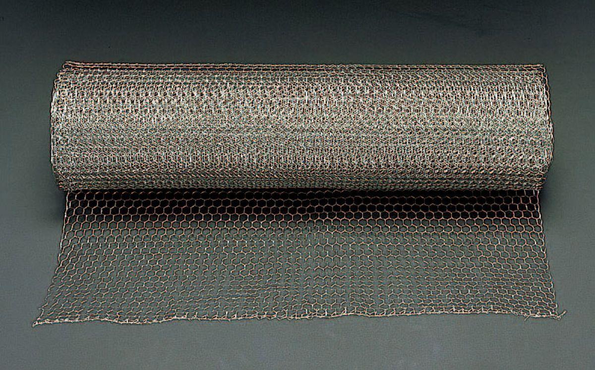 【メーカー在庫あり】 エスコ ESCO 0.91x30m/26mm目 亀甲網 ステンレス製 000012244067 HD店