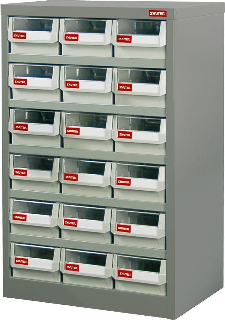 【メーカー在庫あり】 エスコ ESCO 550x400x880mm/3列 6段 パーツキャビネット 000012235441 JP店