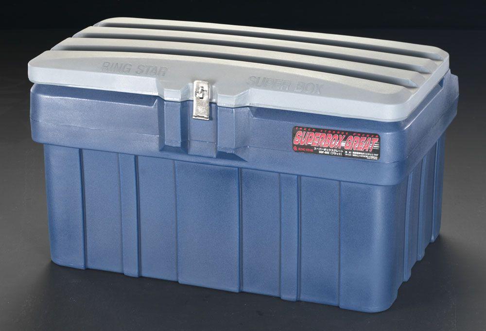 エスコ ESCO 925x615x530mm 収納ケース 樹脂製 000012076037 HD店