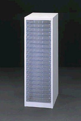 【メーカー在庫あり】 エスコ ESCO 283x400x880mm システムトレーキャビネット 000012065445 HD店