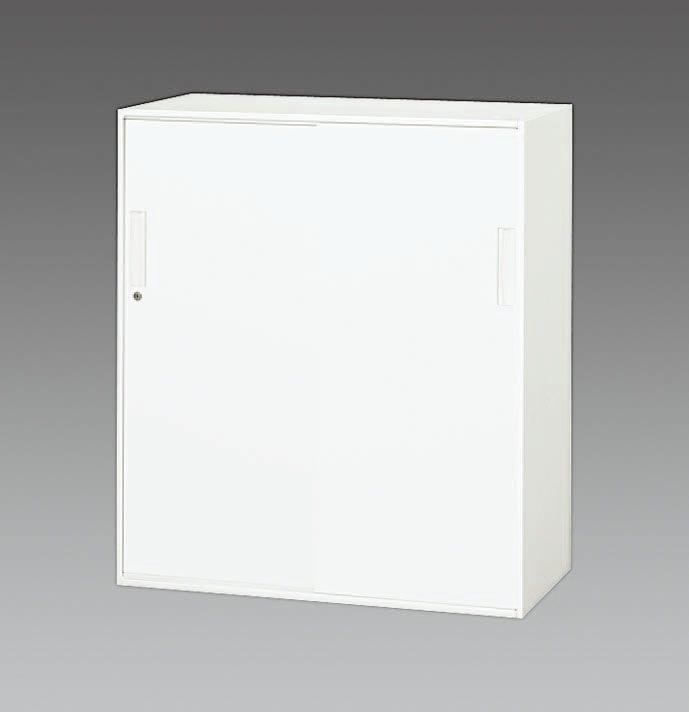 【メーカー在庫あり】 エスコ ESCO 900x400x1030mm 引き戸書庫 000012234328 HD店