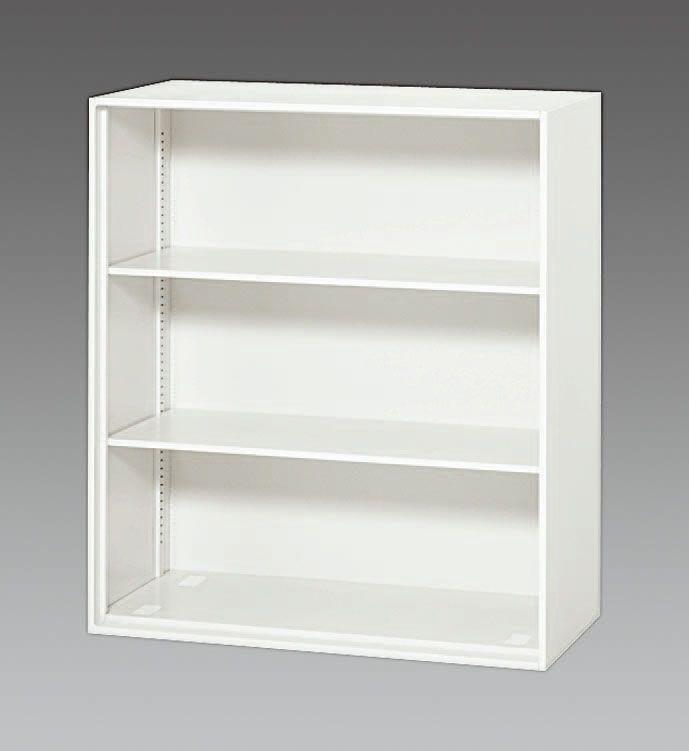 【メーカー在庫あり】 エスコ ESCO 900x450x1030mm オープン型書庫 000012234353 HD店