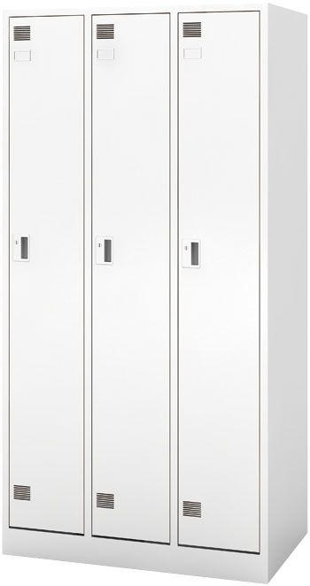 エスコ ESCO 900x515x1790mm 3列 システムロッカー 000012261021 HD店